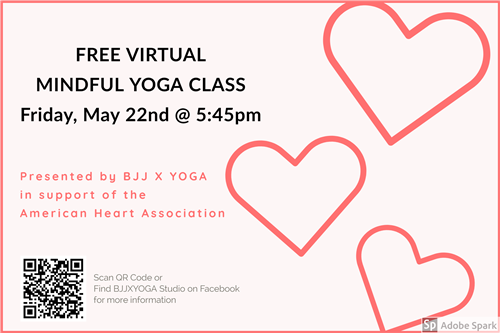 FREE virtual mindful yoga class from AHA